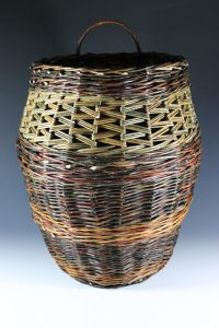 Cultivated and Wild Willow Woven Basket